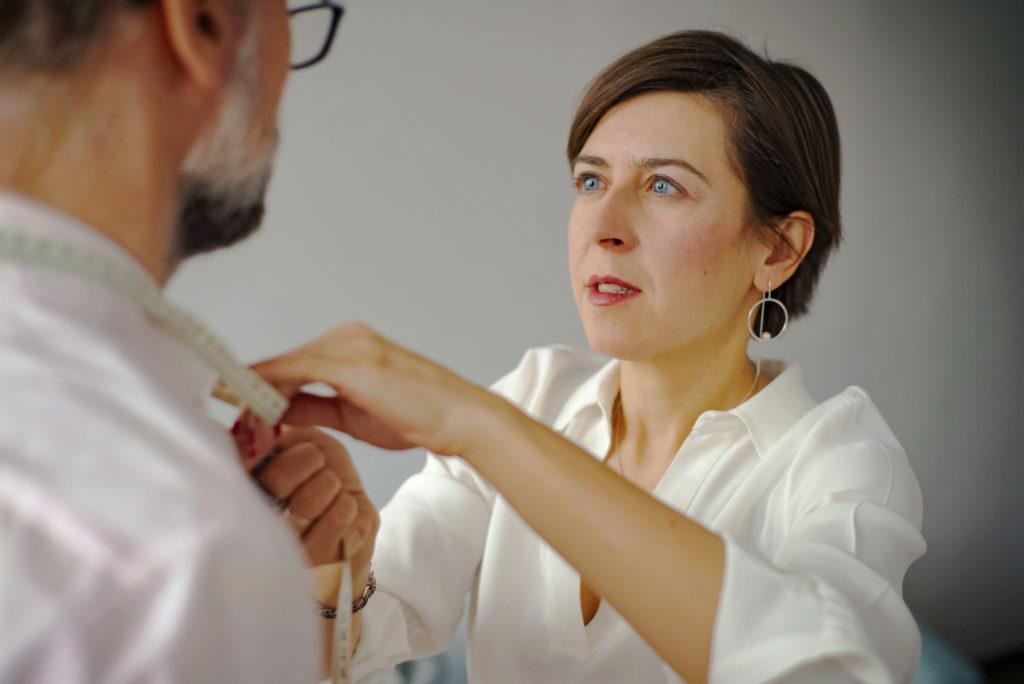 analiza sylwetki z osobistą stylistką