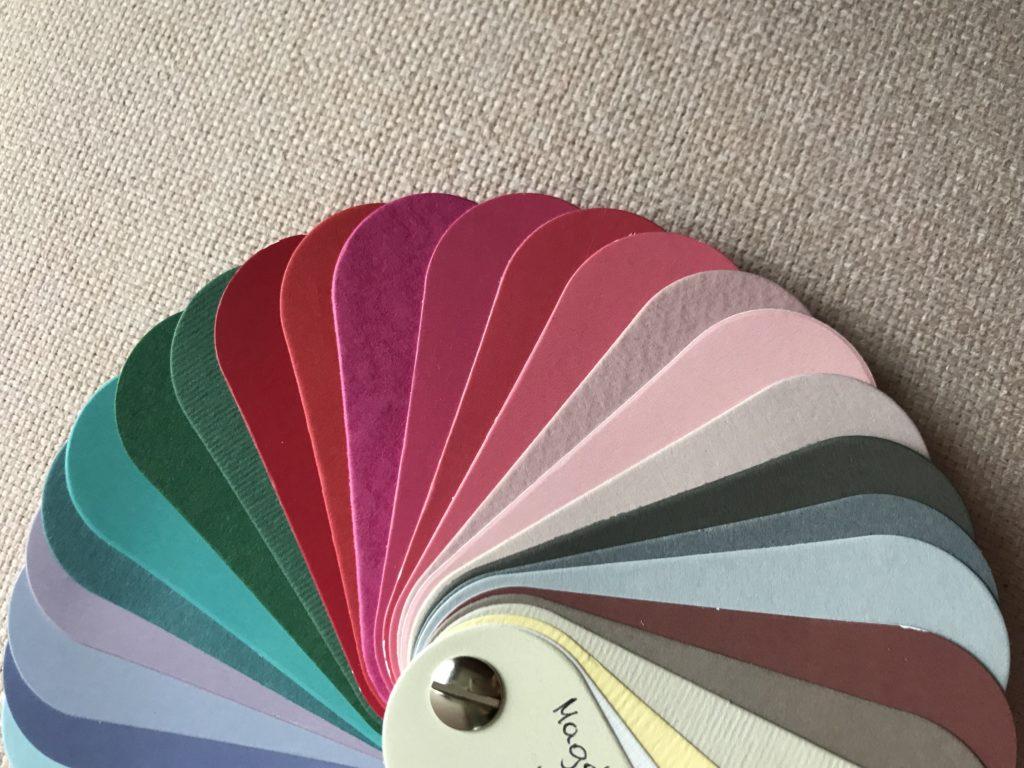 paleta kolorystycna po analizie kolorystycznej