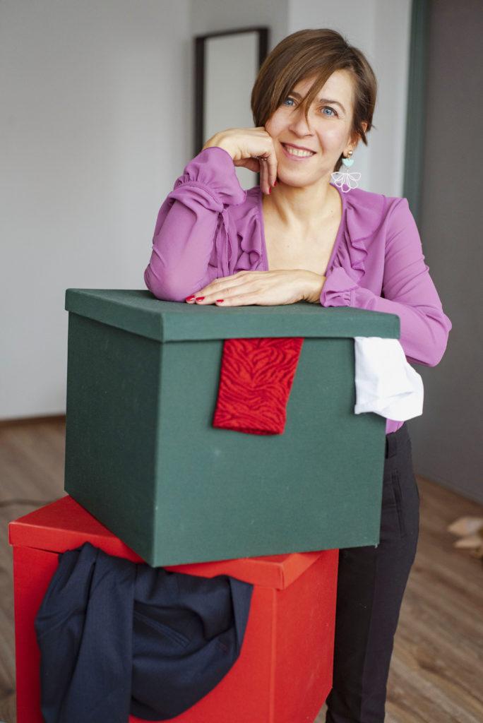 przeglad szafy z osobista stylistka Dorota Panek