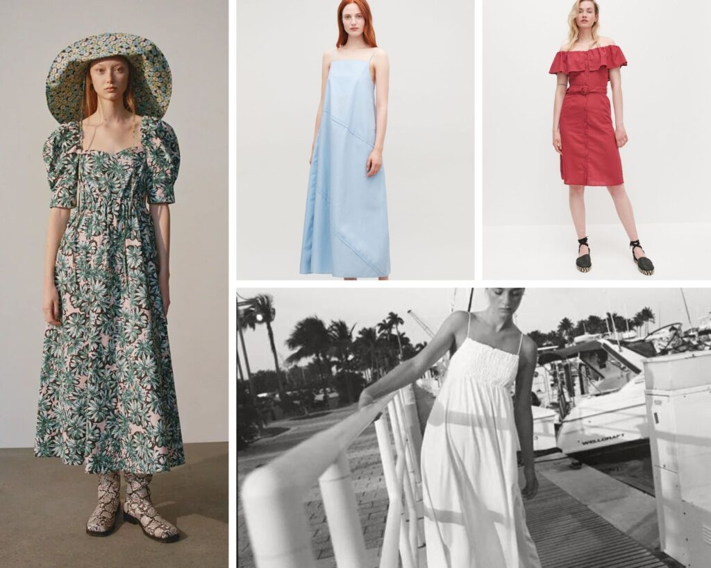 sukienki dla sylwetki A