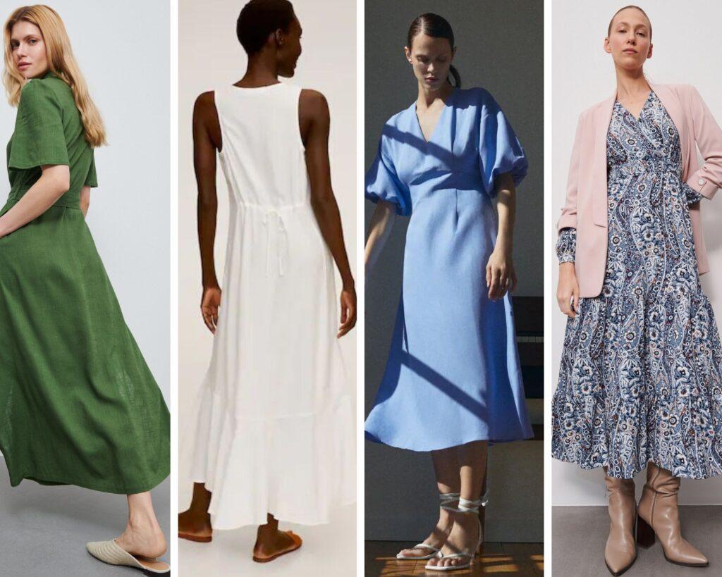 sukienki dla sylwetki X