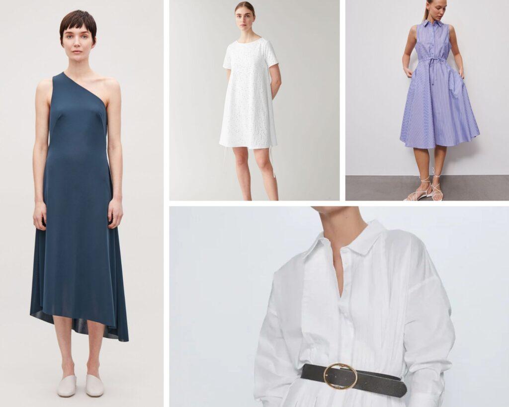 sukienki dla sylwetki Y